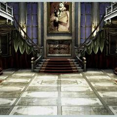 Alexandria Castle hallway.