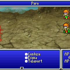Pyro <i>Final Fantasy IV</i> (GBA).