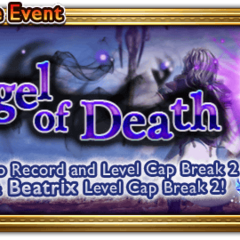 Banner global do evento Angel of Death.