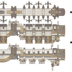 Imperial dreadnought.