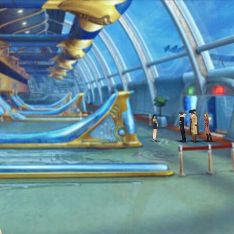 Inside the Lunar Gate.