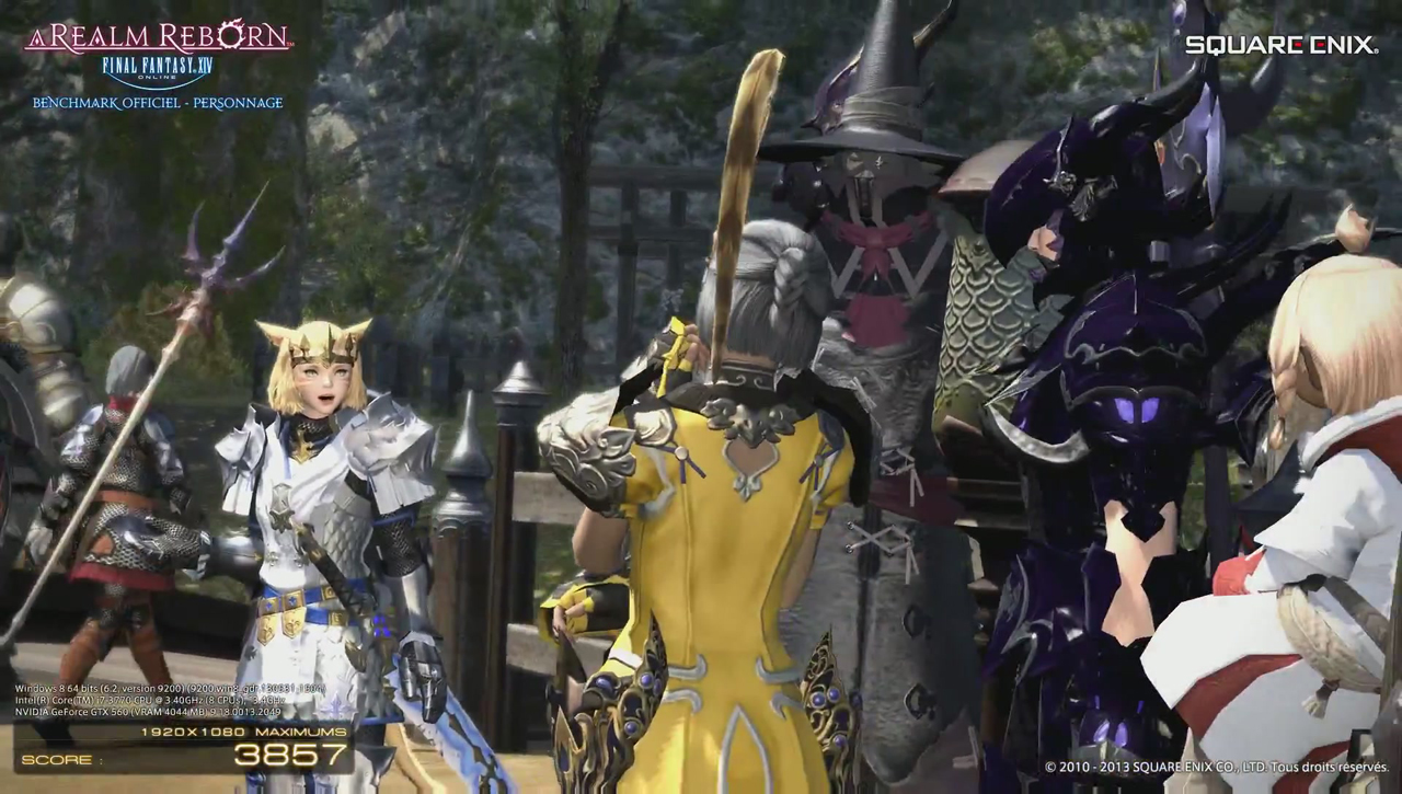 Final Fantasy XIV: A Realm Reborn Official Benchmark (Character