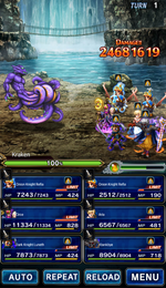FFBE Cave of Tides