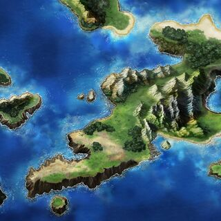Map of the Kolobos Isle.