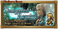 FFRK Tempered Resolve Event