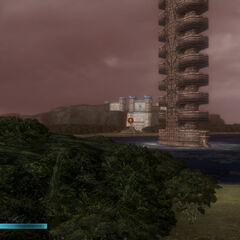 Tower of Agito close-by