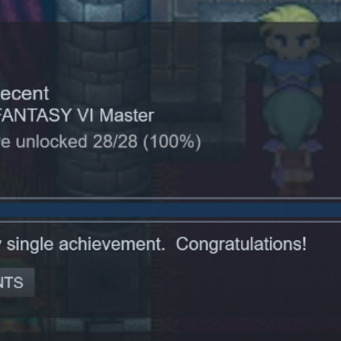 All achievements (PC).