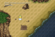 FFVI PC Celes leaves Solitary Island