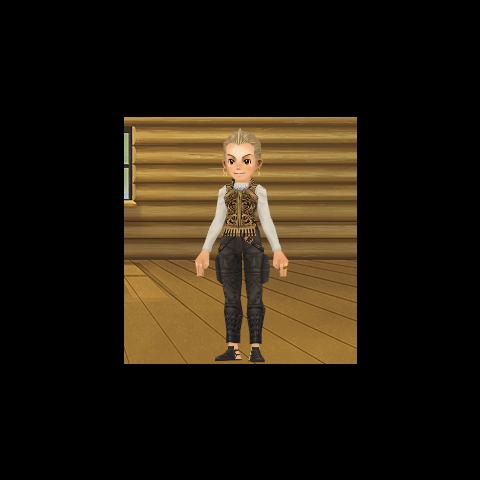 Аватар Square-Enix Members Virtual World в костюме Балфира.