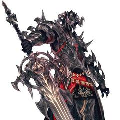 Иллюстрация Темного Рыцаря.