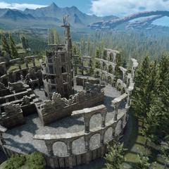 Solheimian ruins.