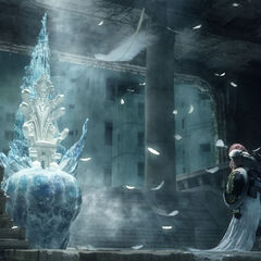 Etro's throne in <i>Final Fantasy XIII-2</i>.
