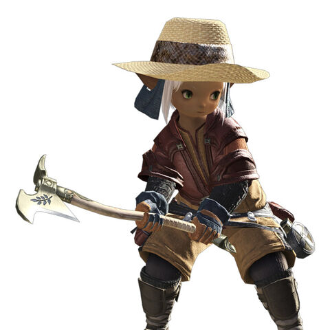Botanist in the original <i>Final Fantasy XIV</i>.