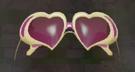 LRFFXIII Heart Glasses