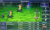Sword Dance FFV