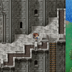 Tower of Trials outer walls in <a href=