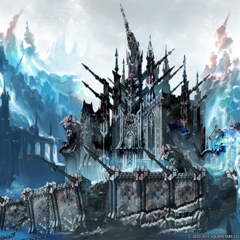 Concept art for <i>Heavensward</i>.