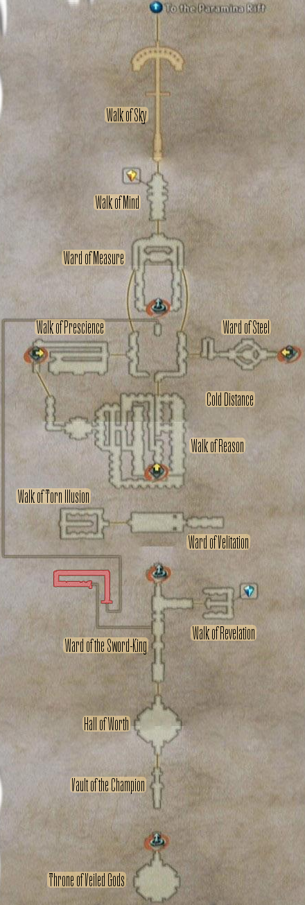 FF12 Map - Stilshrine of Miriam
