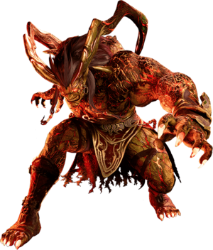 Ifrit from FFVII Remake