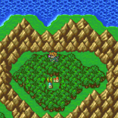 Lix on the World Map (GBA).