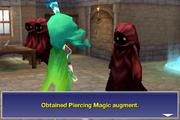 Obtained piercing magic augment ios