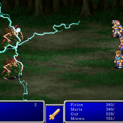 Thunder III in <i>Final Fantasy II</i> (iPod).