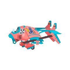 <i>Tiny Bronco's</i> airship model in <i>Final Fantasy Airborne Brigade</i>.