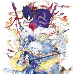 Каин и его тёмная сторона в <i>The Complete Collection</i>, рисунок Ёситака Амано.