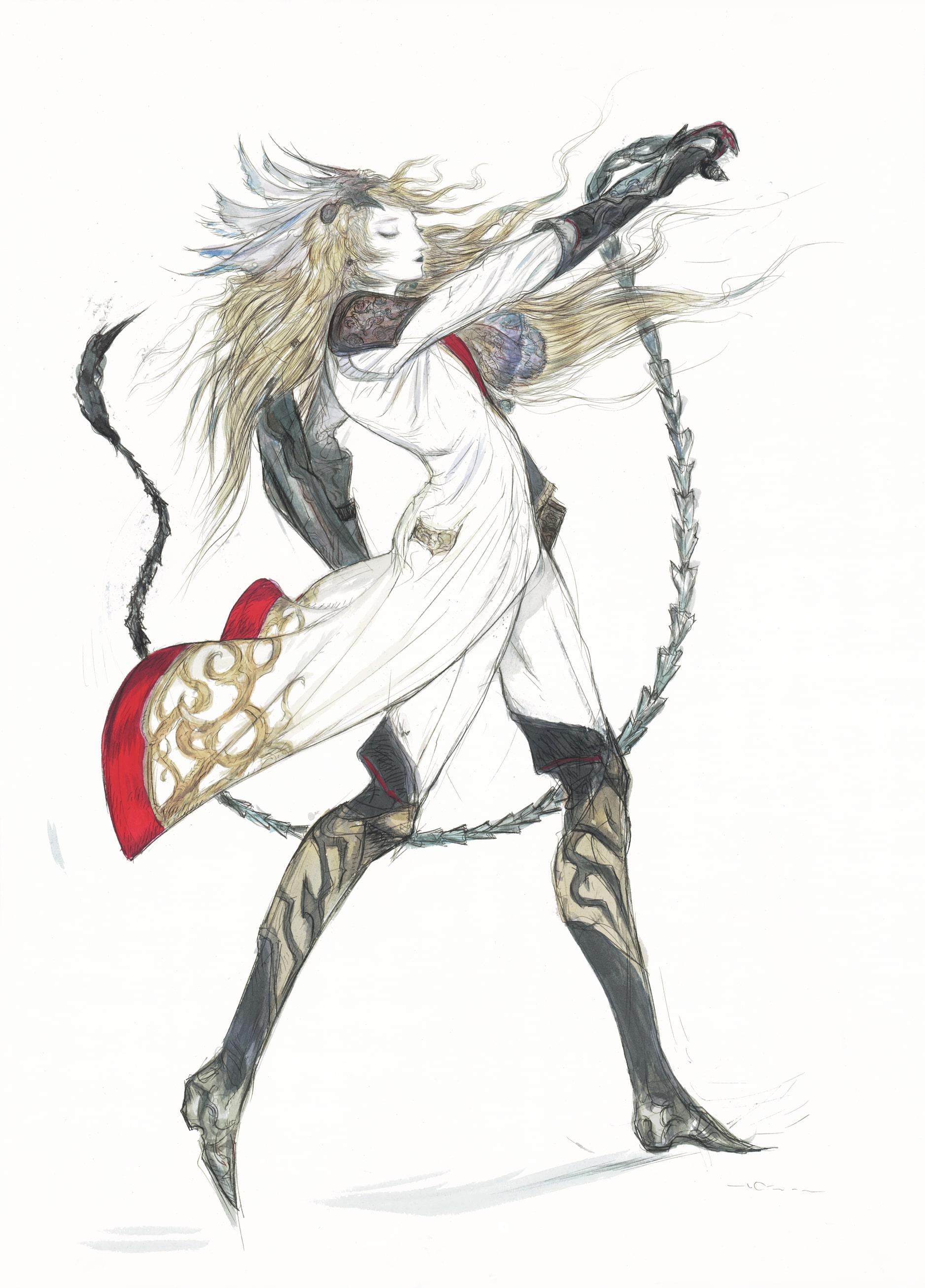 Citra Final Fantasy Fan Art