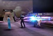 FFVIII Gunblade Attack