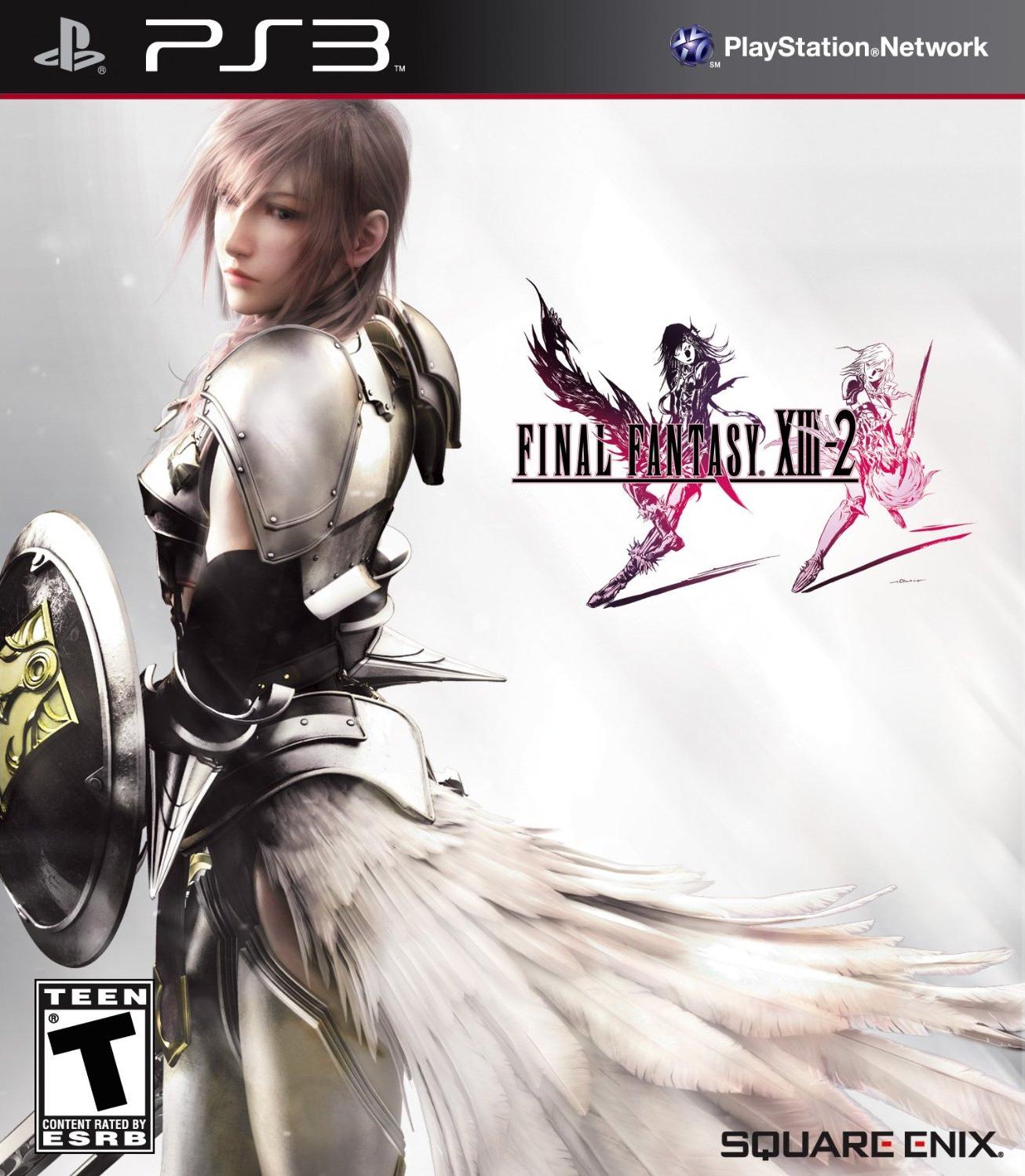 Kết quả hình ảnh cho Final Fantasy XIII-2 cover ps3
