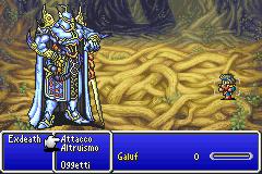 Exdeath vs Galuf
