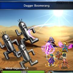 Dagger Boomerang.