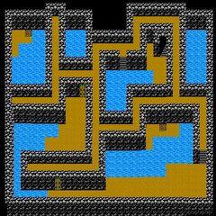 Cave of Mysidia's Third Floor (NES).