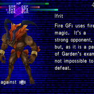 Ifrit Scanned.