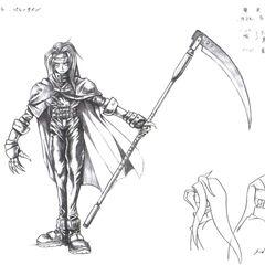 Are inicial de Vincent por Tetsuya Nomura.
