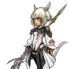 Artwork for Y'shtola's costume.