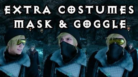 EPISODE PROMPTO - Extra Costumes! Tundra Mask and Attire! Final Fantasy XV