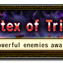 Vortex of Trials banner.