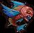 FFI Piranha rosso PSP