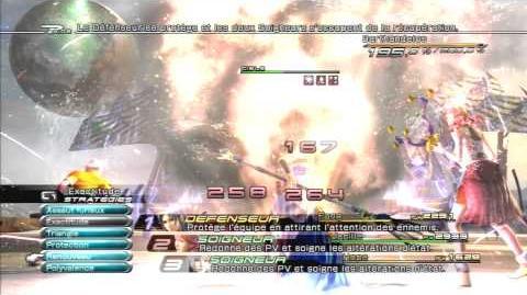 Final Fantasy XIII Combat contre Barthandelus 2