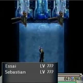 Batalha contra Essai e Sebastian.