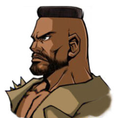 Barret in <i>Before Crisis -Final Fantasy VII-</i>.