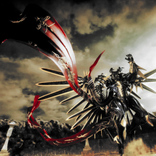 Bahamut boss in <i>Comrades</i>.