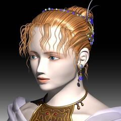 Lenna's CG render.