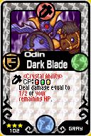Odin Dark Blade