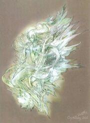 Serah crystal art