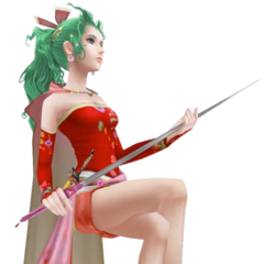 Terra's first alt outfit, based on her <i>Final Fantasy VI</i> sprite.
