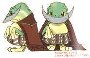 Cid Fabool Frog FFIX Art