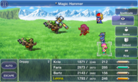 FFV iOS Magic Hammer